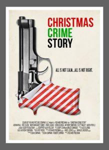 Christmas crime story poster gun